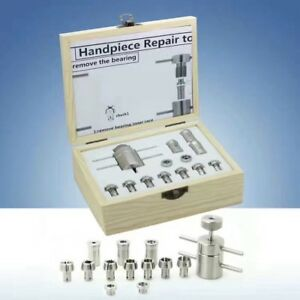 Dental Handpiece Repair Tools Kit Set To Remove The Bearings