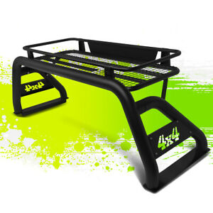 Heavy Duty Off road Roll Bar cage cargo Basket For 07 18 Tundra Styleside Bed