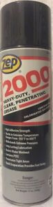 Zep 2000 Heavy Duty Penetrating Grease 2 Can Pack Only 35 89 Free Shipping