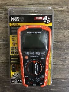 New Klein Tools Mm600 Auto Ranging Digital Multimeter