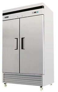 Migali C 2r 35 Commercial Two Door Refrigerator Reach In 35 Cu ft