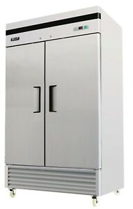 Migali C 2f 35 Commercial Two Door Freezer Reach In 35 Cu ft