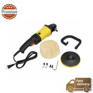 New 7 Variable 6 Speeds Electric Car Furniture Disc Polisher Buffer Tools