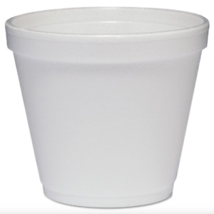Dart 8sj12 Food Containers Foam 8oz White 900 Total