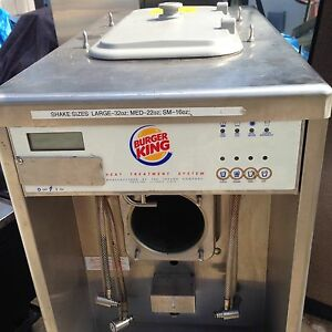 Taylor Ph61 33 Milk Shake Machine From Burger King