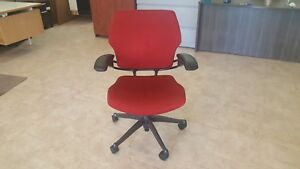 Red Humanscale Freedom Office Task Chair s