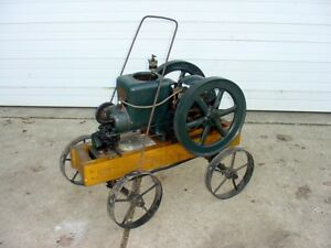 1 1 2 Hp Fairbanks Morse z Hit Miss Gas Engine With Cart