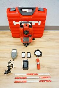 Hilti Pos15 Total Station 5 Sec Reflectorless Mechanical Spectra Trimble