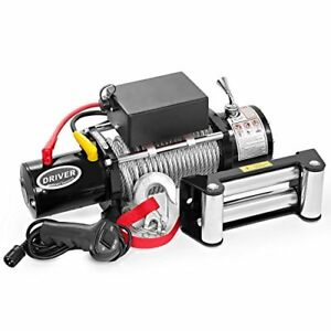 Ld12 Pro Electric Heavy Duty Recovery Winch 12000 Lbs Capacity Wired Rem