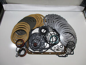 Ford C6 Transmission Rebuild Kit Raybestos W Steels L1976 Up 36006b