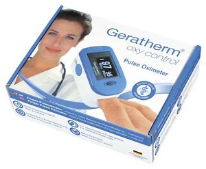 New Geratherm Finger Tip Oximeter Blood Oxygen Spo2 Pr Heart Pulse Rate Monitor