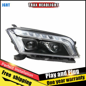 For Chevrolet Trax Headlights Assembly Bi Xenon Lens Double Beam Hid Kit 15 16