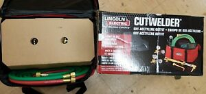 Lincoln Electric Cutwelder Oxy acetylene Outfit Kh995