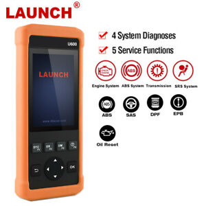 Launch Car Scanner Abs Srs Reset Engine Diagnostic Tool Obd2 Code Reader Cr619