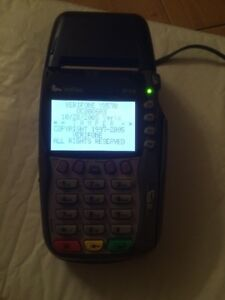 Verifone Vx570 Omni 5700 Credit Card Machine