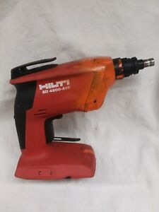 Hilti Sd 4500 a18 Cordless Drywall Screw Gun Bare Tool Only