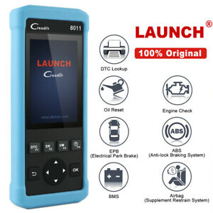 Launch Cr8011 Scanner Obd2 Diagnostic Abs Srs Epb Oil Reset Bms Engine Scan Tool