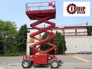 Jlg 33rts Rough Terrain 4x4 Scissor Aerial Lift 33 Ft Height