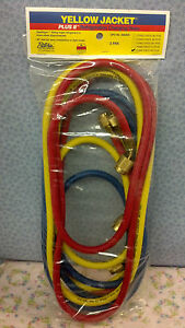 Yellow Jacket Ritchie Plus Ii 96 Hose Set W anti blow back Valves
