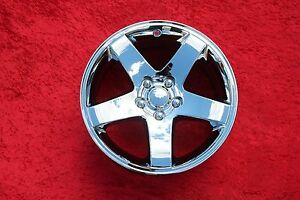 Dodge Challenger Charger Magnum 300 Oem 17 Single Chrome Wheel 2358