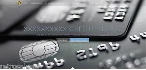 Credit Repair Business Website W Hosting And Domain Name