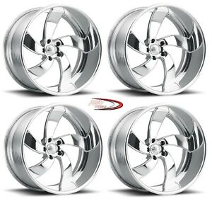 Pro Wheels Wicked 20 Polished Aluminum Forged Billet Wheels Rims Us Foose Intro