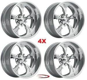 Pro Wheels Wicked 22 Polished Aluminum Billet Wheels Rims Foose Forgiato Intro