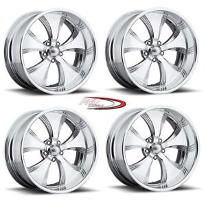 Pro Wheels Killer 19 Polished Aluminum Billet Wheels Rims American Foose Intro