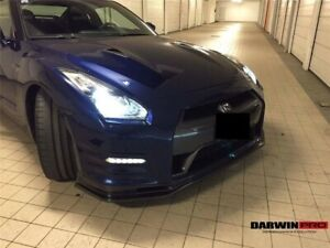2012 And Up Dba Gtr R35 Nsmo Style Part Carbon Fiber Front Lip For Nissan Gtr