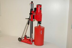 Bluerock tools 12 z1 T s Concrete Core Drill 2 Speed W Tilting Stand