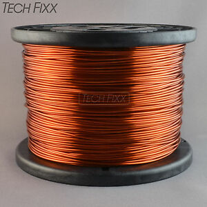 Magnet Wire 16 Gauge Enameled Copper 1195 Feet Coil Winding 9 5 Lbs Essex 200c