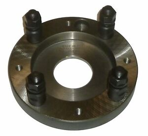New Bison 8232 160 6 Adapter Plate For Lathe Chuck A6
