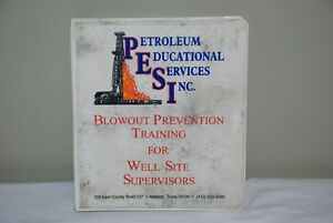 Oilfield Petroleum Educational Services Blowout Prevention Training Manual