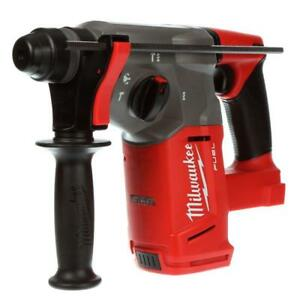 New Milwaukee Fuel 18 Volt Lithium Ion 1 Sds Plus Rotary Hammer Drill 2712 20