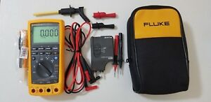 Excellent Fluke 789 Process Meter With Leads storage Case And More Tp 224176