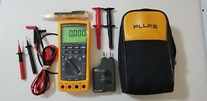 Excellent Fluke 789 Process Meter With Leads storage Case And More Great