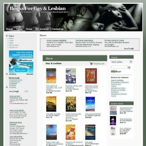 Established Gay Lesbian Online Book Business Website For Sale Free Domain Name
