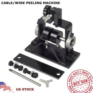 Wire Cable Stripping Peeling Machine Scrap Stripper Metal Recycle Tool Manual