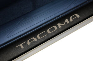 Custom Door Sill Scuff Plate Grip Tape Wrap For Toyota Tacoma 16 18 Truck Tacoma