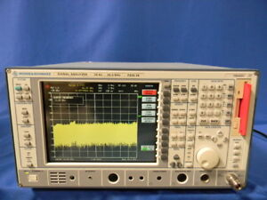 Rohde Schwarz Fsiq26 Spectrum Analyzer Opt B22 B4 B5 B7