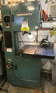 Metal Cutting Band Saw Single Phase 20 Inch Variable Speed Tannewitz Vertical