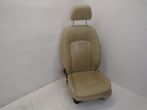 Dk805394 2002 2008 Jaguar X Type Front Driver Left Side Seat Tan Assembly Oem