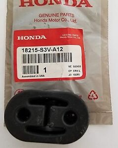 Genuine Honda Exhaust Insulator Rubber Mount 18215 s3v a12
