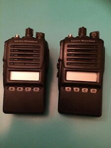 Lot Of 2 Vertex Standard Vx 354 ag7b 5 Radio Walkie Talkie