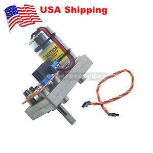 High Torque Servo Dc12 24v 380kg cm Steel Gear For Robot Mechanical Arm us
