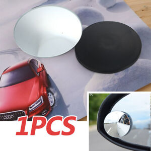 1 Pcs Universal Adjustable Blind Spot Mirror Rear View Car Side 3m Adhesive