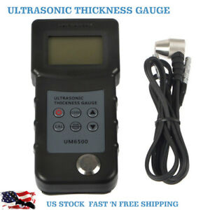 Digital Um6500 Handheld Ultrasonic Thickness Gauge Tester Meter 1 0 245m Us