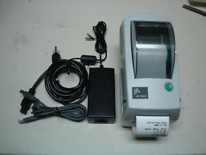 Zebra Lp 2824 Usb Label Printer Ebay Shipping Or Barcode Labels Lp2824