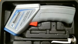 Mastercool Infrared Thermometer With Laser And Carrying Case