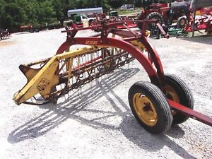 New Holland 256 Hay Rake With Dolly Wheels Can Ship 1 85 Per Loaded Mile
